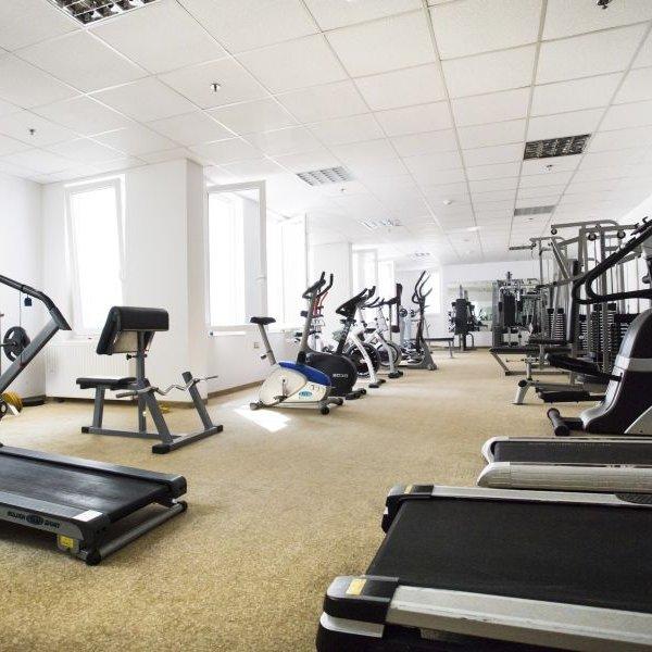 Aphrodite Hotel fitness terem