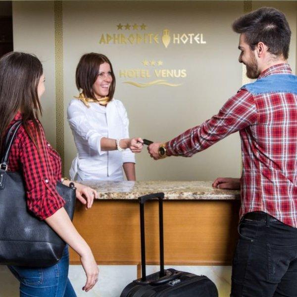 Aphrodite Hotel recepció